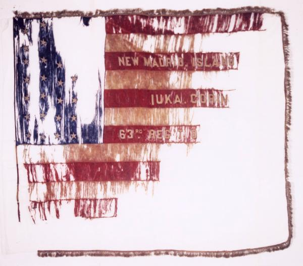 National Colors of the 63rd O.V.I.