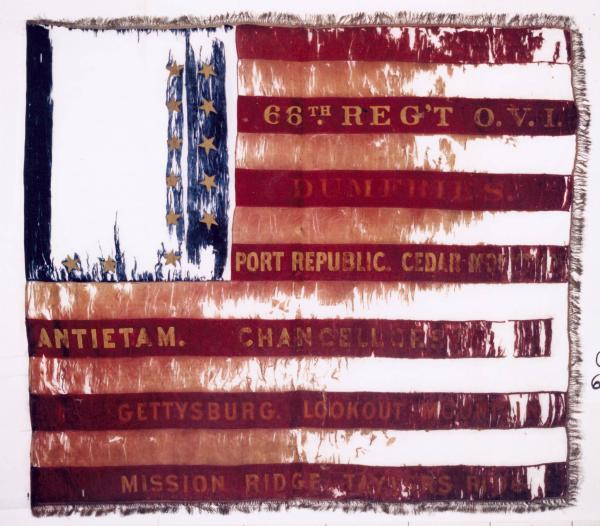 National Colors of the 66th O.V.I.