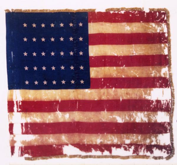National Colors of the 67th O.V.I.