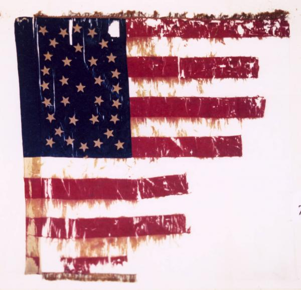 National Colors of the 77th O.V.I.