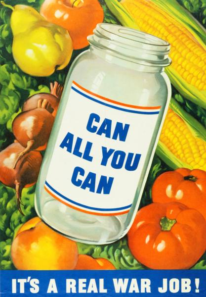 'Can All You Can' poster