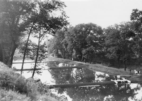 Ohio fish hatchery photograph