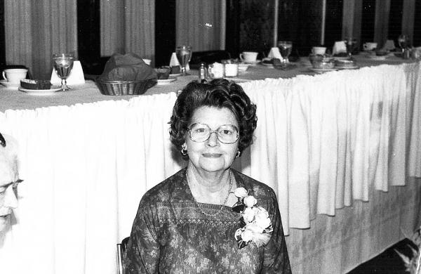 Clara Weisenborn photographed at Women's Recognition Day