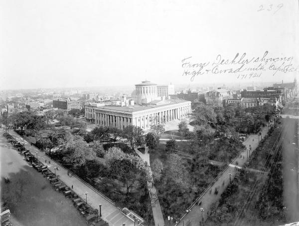 State Capitol and Broad and High Streets photograph