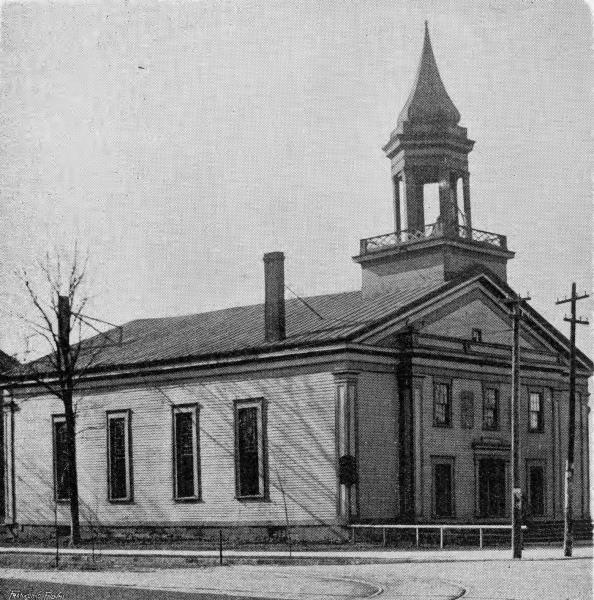 Old First Church photograph