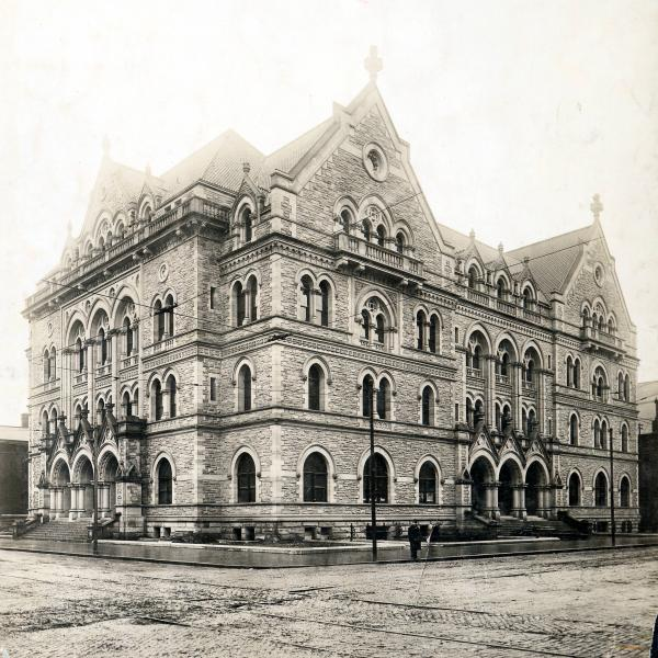 U.S. Post Office and Courthouse Columbus, Ohio, photograph