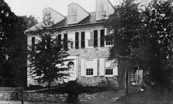 Zebulon Thomas home photograph