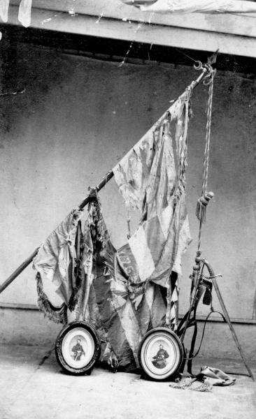 76th Ohio Volunteer Infantry Battle Flag photograph