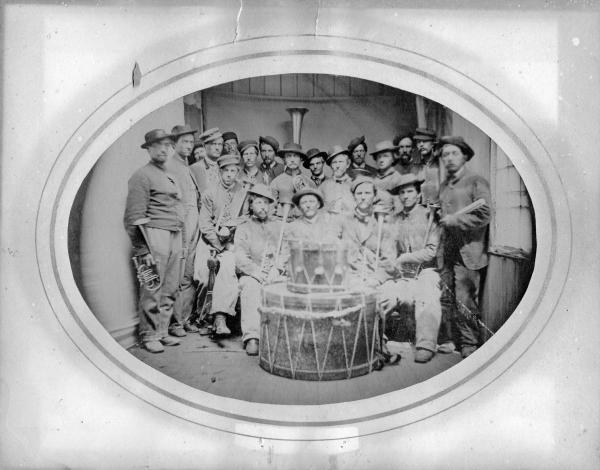 44th Ohio Volunteer Infantry Band photograph