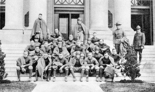 83rd Infantry Division Football Team photograph