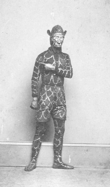 Actor in costume photograph