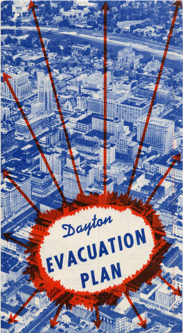 Dayton Evacuation Plan pamphlet