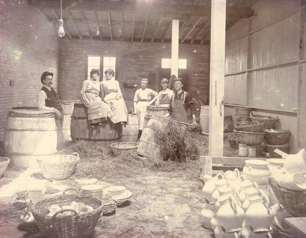 Crooksville China Company workers