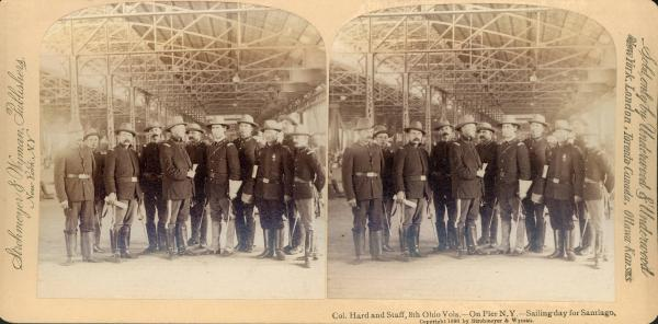 8th Ohio Infantry Regiment officers