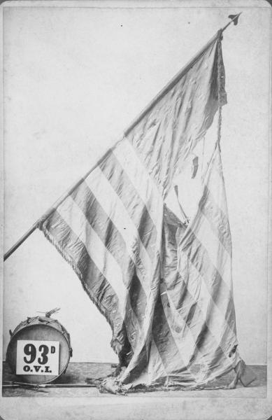 National Colors of the 93rd O.V.I.