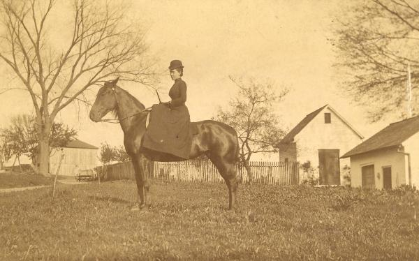 Mary Tiers at Hunt Farm