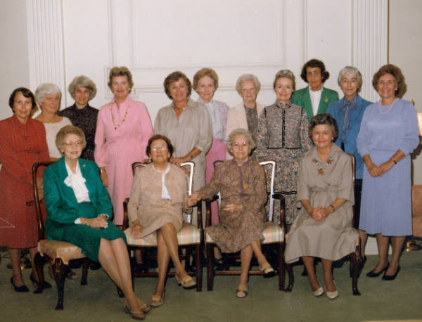 United Daughters of the Confederacy, Dixie Chapter members