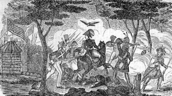 Attack on Fort Meigs print