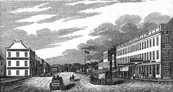 West Main Street, Circleville, Ohio, print
