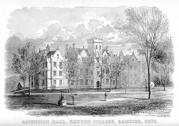 Kenyon College, Ascension Hall print