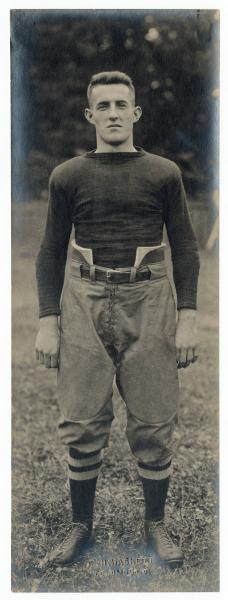 Fred Norton in his football uniform