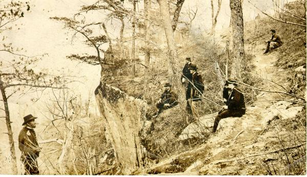 Ulysses S. Grant at Lookout Mountain photograph