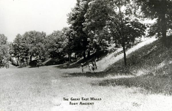 Fort Ancient walls photograph