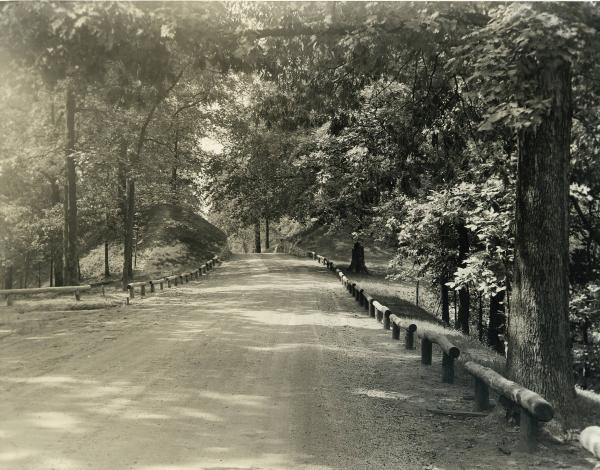 Fort Ancient road photograph