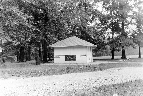 Fort Ancient refreshment stand photograph