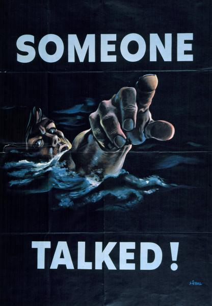 'Someone Talked' poster