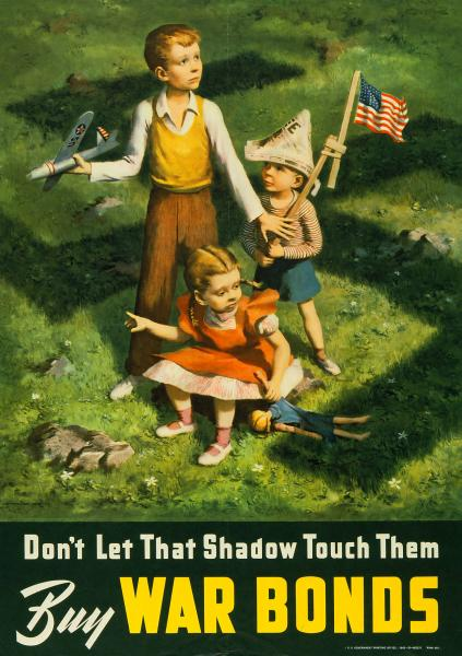 'Don't Let That Shadow Touch Them' poster