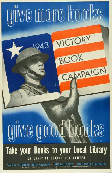 'Give More Books...Give Good Books' poster