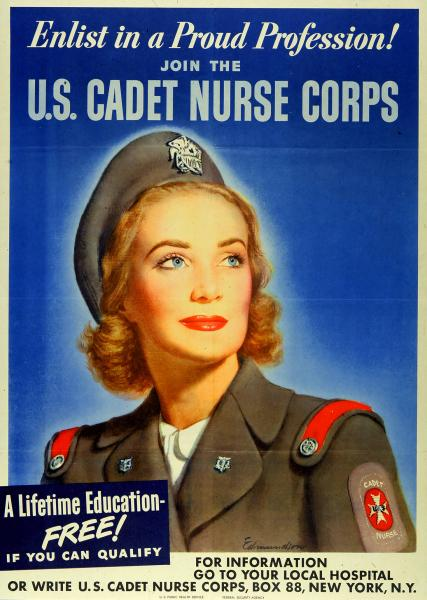 'Enlist in a Proud Profession!' poster