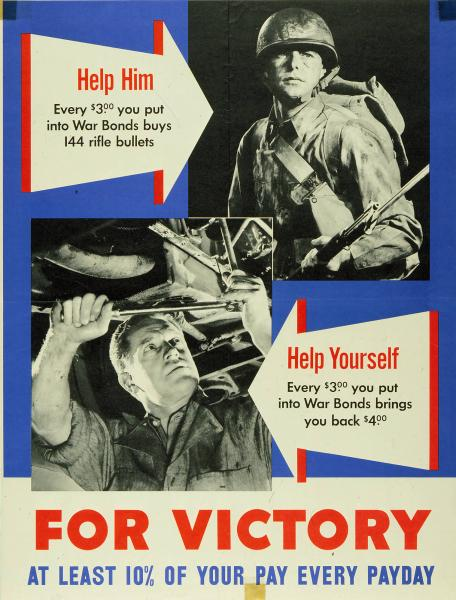 'Help Him...Help Yourself' poster