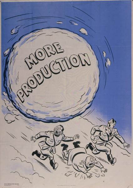 'More Production' poster