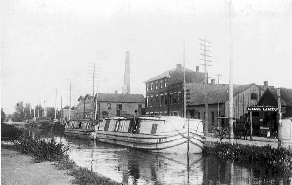 Ohio & Erie Canal in Chillicothe photograph