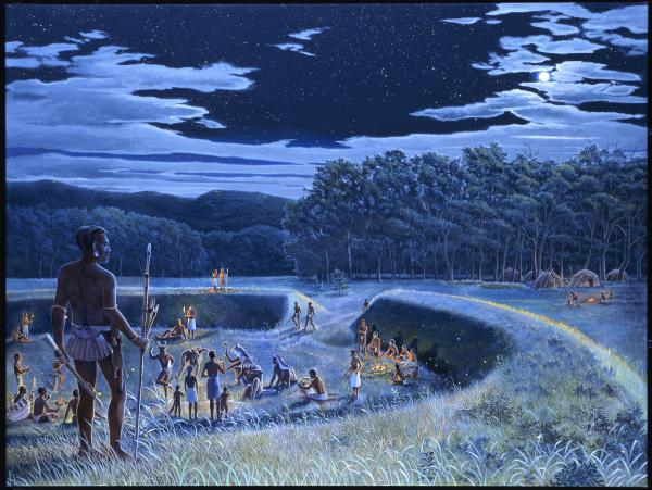 American Indian Life in the Early Woodland Period