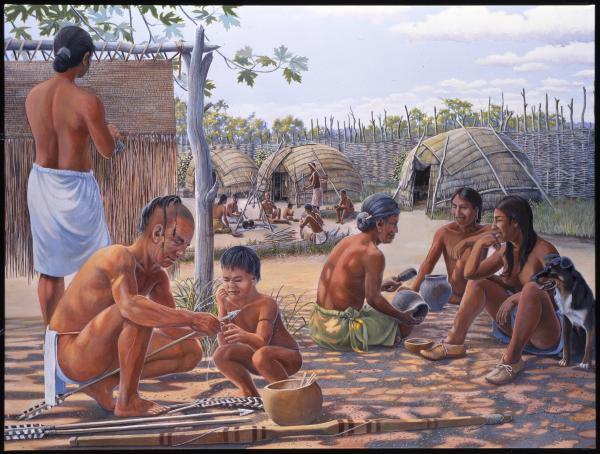American Indian Life in the Late Woodland Period