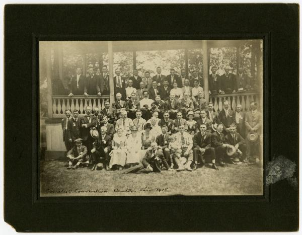 Socialist Convention and Eugene V. Debs Picnic photograph