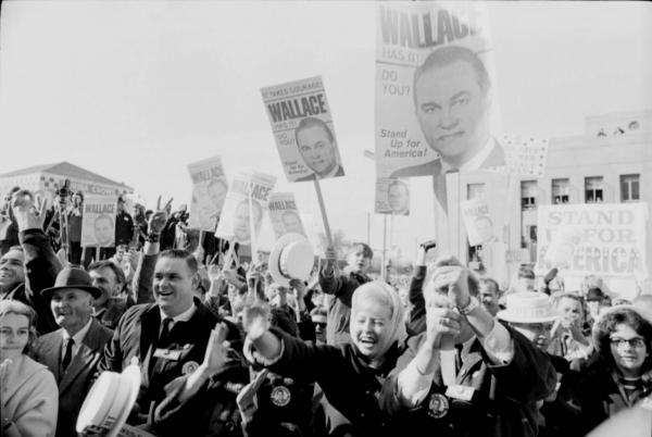 George Wallace rally supporters