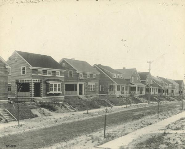 Youngstown Sheet and Tube Company's Highview Plat housing