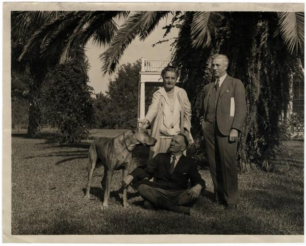 Albert D. Taylor and client