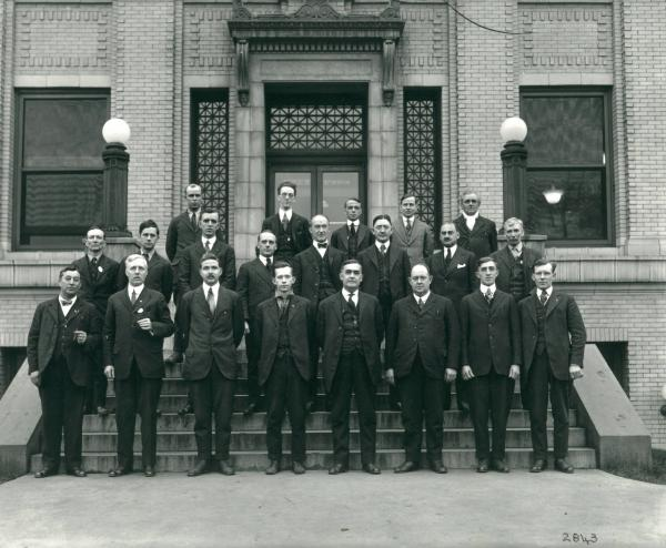 Youngstown Sheet and Tube representatives