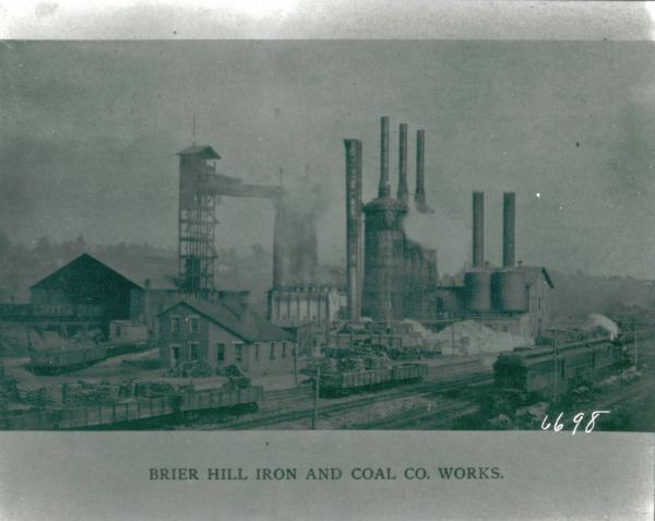 Brier Hill Iron and Coal Company Works