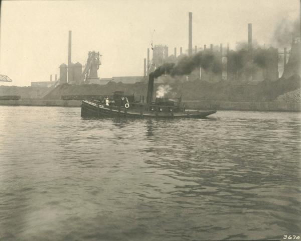 Youngstown Sheet and Tube Company's Indiana Harbor Works