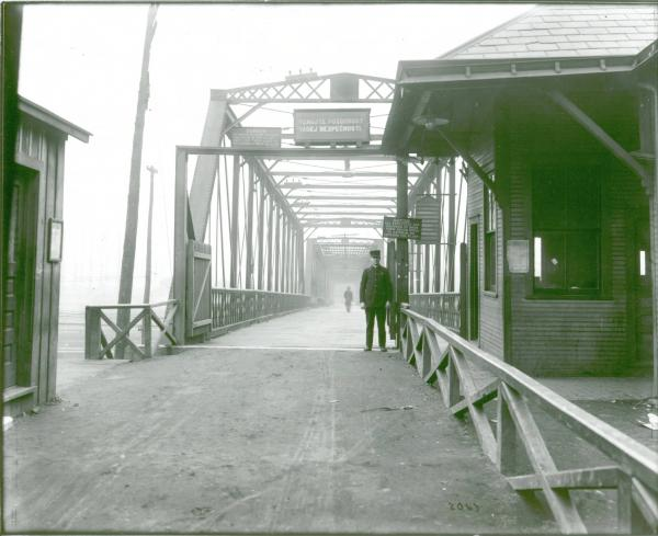 North Bridge at Youngstown Sheet and Tube Company's Campbell Works