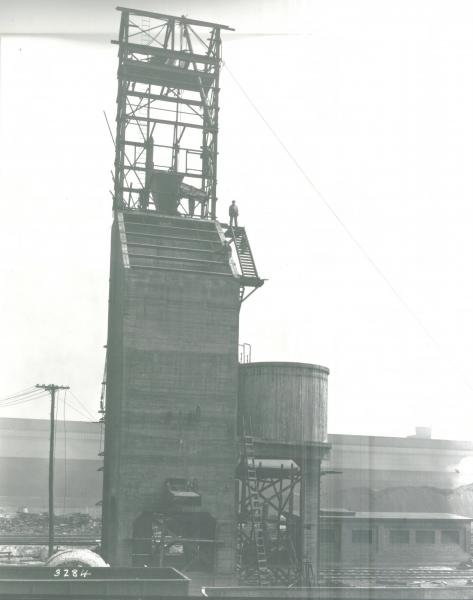 Youngstown Sheet and Tube Company's Campbell Works coal tower