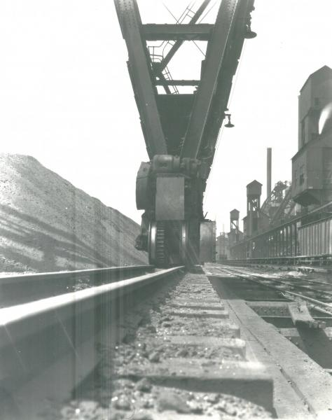 Youngstown Sheet and Tube Company's Campbell Works ore bridge track