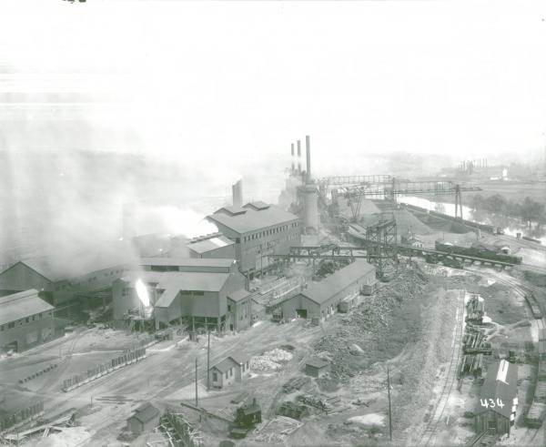 Youngstown Sheet and Tube Company's Campbell Works blast furnace