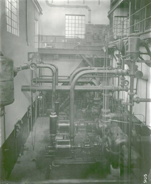 Youngstown Sheet and Tube Company's Campbell Works blast furnace pump house
